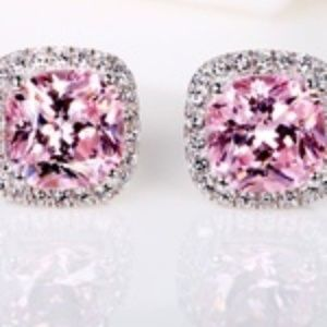 Jewelry - ROSE QUARTZ ~ WHITE TOPAZ ~ STERLING SILVER